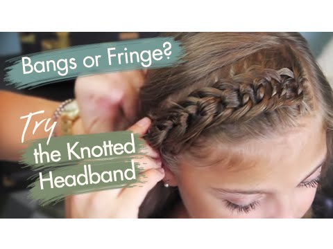 The Knotted Headband | Back to School Hairstyles
