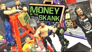 GTS WRESTLING: MONEY IN THE BANK! WWE Mattel Figure Animation PPV Event!