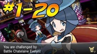 ★ Pokemon X And Y Doubles Battle Maison (1 20)
