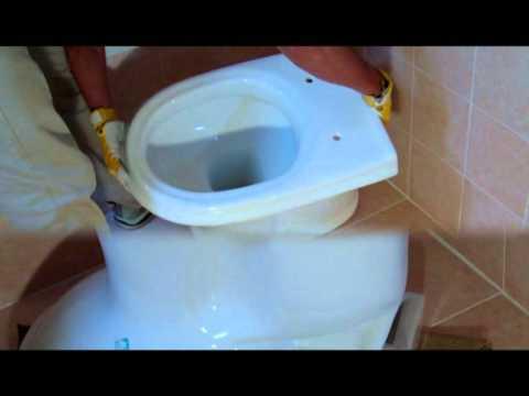 Come installare un vaso WC tipico nel bagno..http://www.faidategratisgs.it
