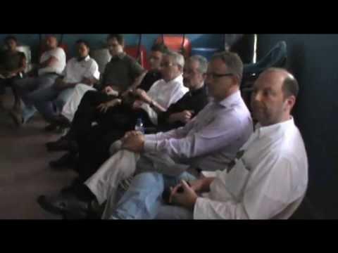 Comitiva de la Iglesia Alemana Visita Cáritas El Salvador
