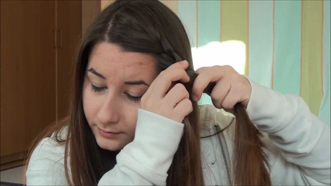 easy hairstyles for greasy hair - YouTube