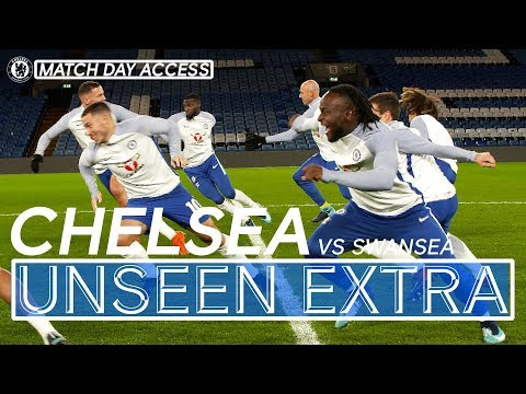 Tunnel Access Chelsea Vs Swansea | Chelsea Unseen Extra