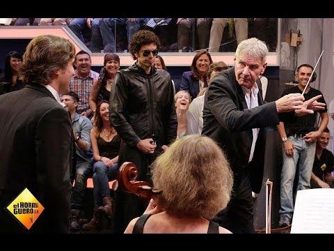 El Hormiguero - Harrison Ford dirige a la Film Symphony Orchestra