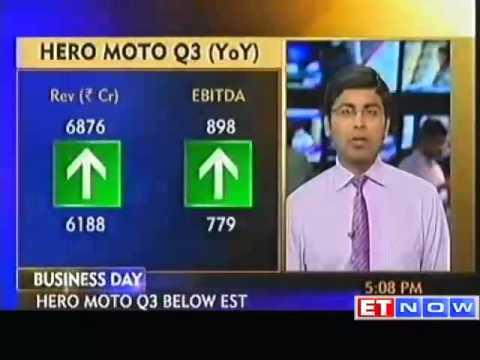 Hero MotoCorp Q3 net rises 7.5% to Rs 525 crore