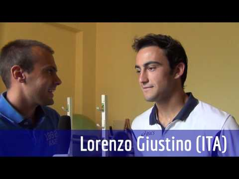 ATP Challenger Como 2013 - Intervista a Lorenzo Giustino (ITA) dopo la vittoria al primo turno