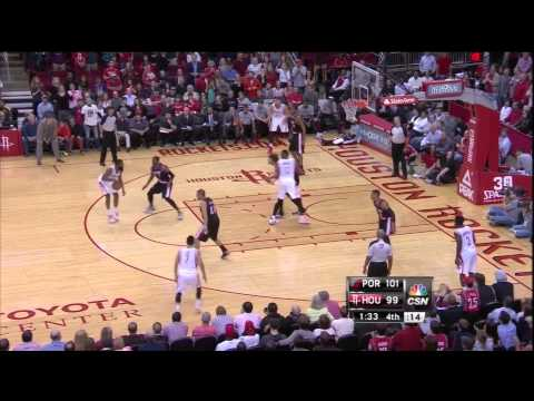 How James Harden Stole The Game From Aldridge And The Trail Blazers