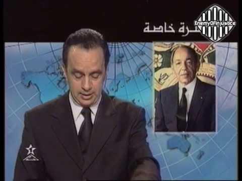 فيديو .. أقوى اللحظات بعد وفاة الحسن الثاني وبكاء المذيع
