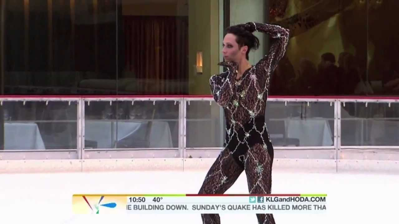 Poker face johnny weir youtube