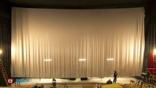 IMAX Screen Installation Timelapse At Celebration! Cinema