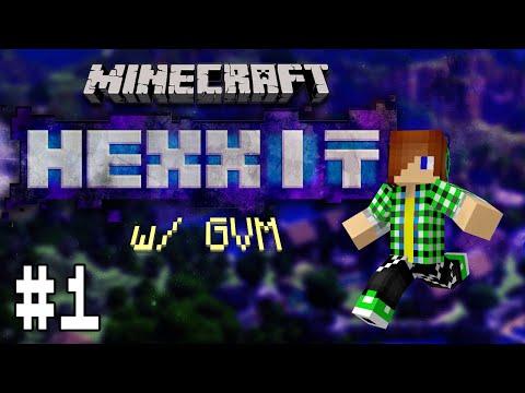 Minecraft Hexxit #1: Khởi đầu kinh hoàng !!!