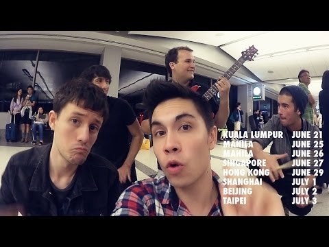 We're Coming To Asia!! (Airport Song Edition)