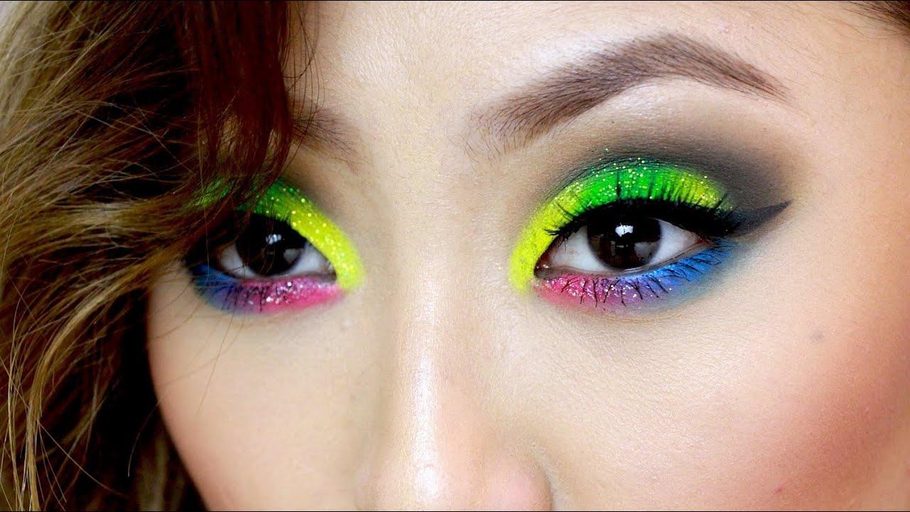 Rave Makeup Tutorial ! - YouTube