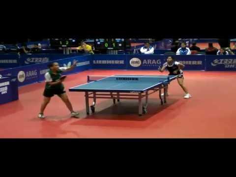 Mouma  vs Silva (India vs Brazil) Table Tennis Match