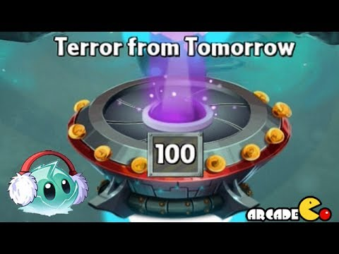 Plants Vs Zombies 2: Far Future (HIGHEST LEVEL) Terror From Tomorrow Level 100 Endless Wave Part 31