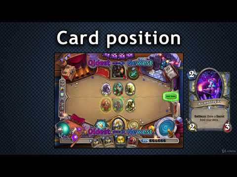The Legendary Course - Become a Hearthstone Legend! : In-hand card positions