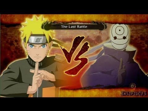 Naruto Ultimate Ninja Storm 3 Naruto Vs Tobi S-Rank Legend (English)