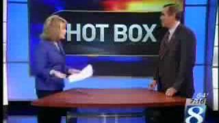 Jeff Merkley in the KGW Hot Box