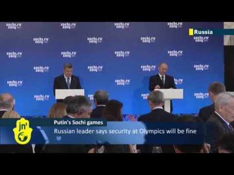 Putin's Sochi Olympics: All security threats will be overcome