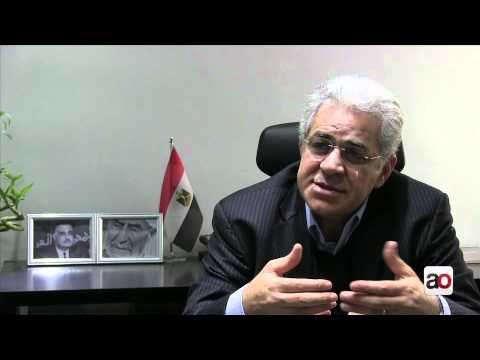 Hamdeen Sabbahi speaks to Ahram Online لقاء مع حمدين صباحي