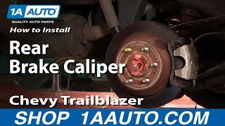 How To Install Replace Leaking Rear Brake Caliper Chevy