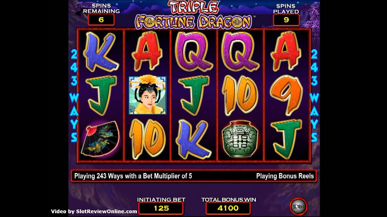 Triple Dragon Fortune™ Slot Machine Game to Play Free in Aristocrats Online Casinos