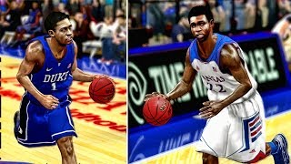 NCAA College Hoops 2k14 Andrew Wiggins Vs Jabari Parker