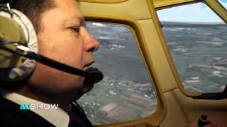 Reportaj AISHOW: Ștefan Gațcan pilot de avioane