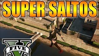 GTA V Online Glitch De Super Saltos, ¡¡A Volar