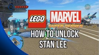 How To Unlock Stan Lee LEGO Marvel Super Heroes