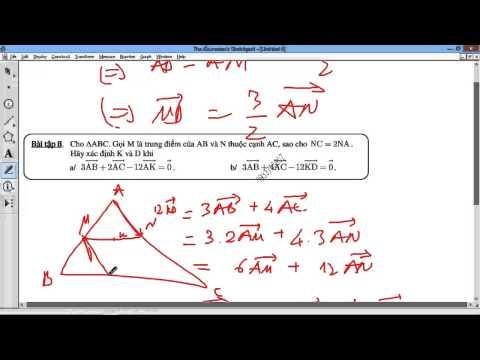 [TOÁN 10 HH] I.C XÁC ĐỊNH ĐIỂM VECTOR - Bài 1 Các bài tập mẫu hay 7 8 9 xđ M thỏa hệ thức vector