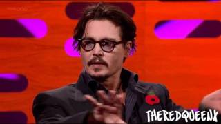 Johnny Depp & Ricky Gervais on the Graham Norton show [1/3]
