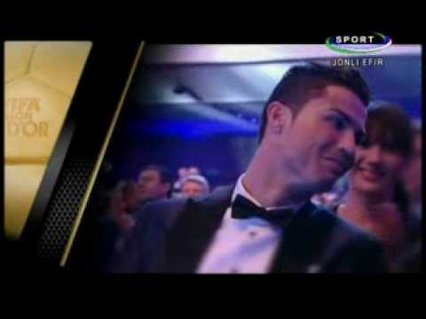 Cristiano Ronaldo wins Fifa Ballon d'Or award ( Golden Ball ) 2013-2014 FULL HD