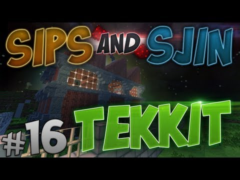 Tekkit - Episode 16 - Beautiful Stranger