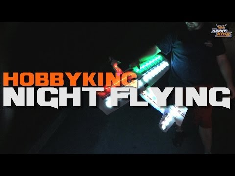 HobbyKingLive - Flybeam BTS and general night flying shenanigans