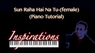 How to Play sun raha hai na tu-(Aashiqui 2)-**Keyboard Tutorial**