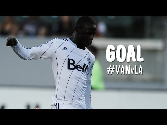 GOAL: Kekuta Manneh levels the score with a powerful blast | Vancouver Whitecaps vs LA Galaxy
