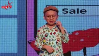 """Thánh hài nhí 5 tuổi An Khang - """"sao nhí"""" từng đánh lừa cả Trấn Thành - Việt Hương."""