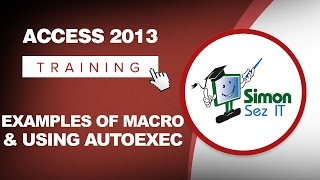 How To Use Macros In Microsoft Access 2013 Examples Of