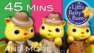 Little Baby Bum | Three Little Kittens | Nursery Rhymes for Babies | Songs for Kids