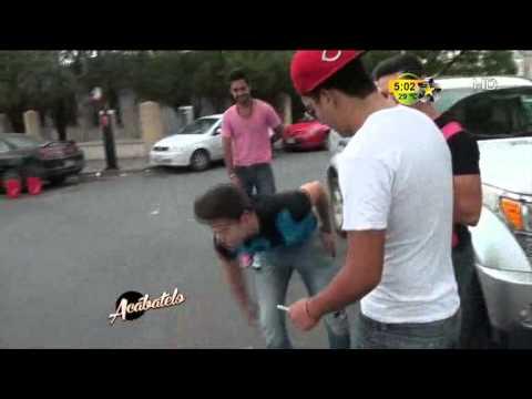 Los meseritos y sus travesuras (Skateboard con las fans)