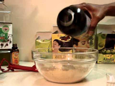 11 ★ Ayurvedic Powders: Making an Indian Hair Paste (Another Recipe)