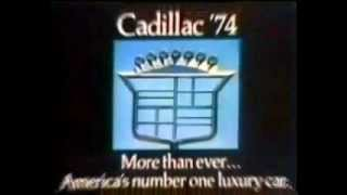 1974 Cadillac Coupe DeVille TV Commercial