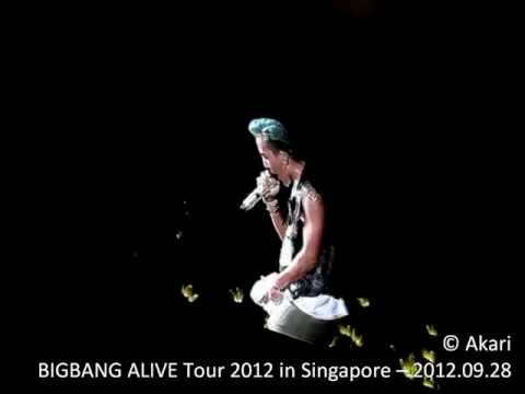 CRAYON and One Of A Kind @ BIGBANG ALIVE Tour in Singapore - 2012.09.28