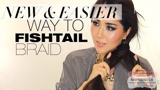 ★ FISHTAIL BRAID TRICK TUTORIAL BRAIDED HAIRSTYLES FOR