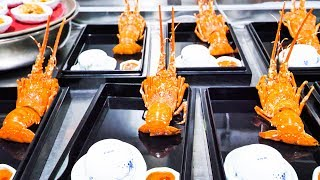 INSANE LUXURY Chinese Seafood - $300 HUGE Chinese Seafood FEAST - LOBSTER, ABALONE, EEL, and CAVIAR!