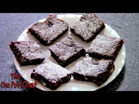 Festive Chocolate Brownies - RECIPE