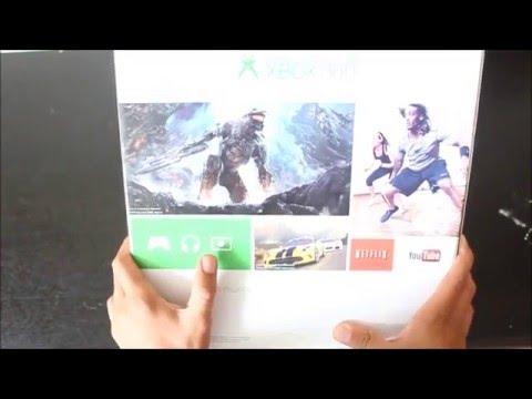 XBOX 360 E SLIM - UNBOXING EN ESPAÑOL