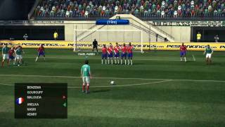 Mexico Vs France World Cup 2010 PES