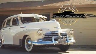 Sam Chavira & His 1948 Chevrolet Fleet Master Sports Sedan  - Lowrider Roll Models Ep. 4. MotorTrend.